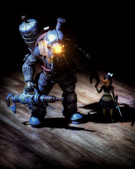 Big Daddy. Bioshock Toyphotography Longexposure