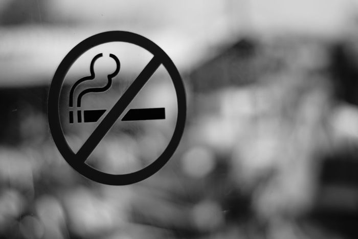 No smoking.... NoSmokingPlease Signs - Warnings Blackandwhite Photography Black And White Photography Photooftheday