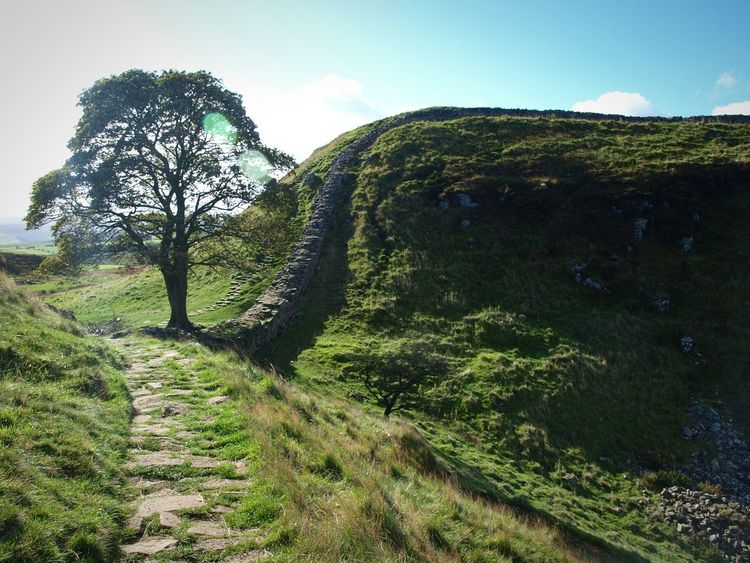 Hadrians Wall Uk Walking Around Taking Photos Famous Place from Robin Hood prince of thieves