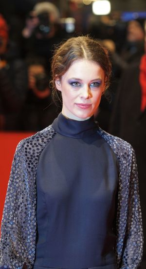 Berlin, Germany - February 17, 2018: German actress Paula Beer attends the premiere of the film ´Transit´during the 68th Berlinale Film Festival 2018 Artist Fame Famous Film Festival Interview Photocall Press The Media Arts Culture And Entertainment Berlinale Berlinale 2018 Berlinale2018 Entertainment Entertainment Event Film Industry Gala Mass Media One Person Paula Beer People Popular Posing Press Conference Red Carpet Red Carpet Event