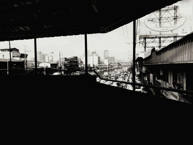 Cellphone Photography Bridge View Black & White 6.2.16