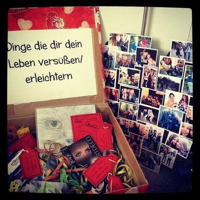 Bestes Geschenk Rot Bilder Erinnerungen Süss Sweet 17 Danke  Kimme Birthday Happy Looooooove  :))))