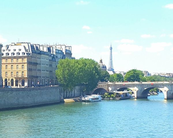 J' adore. Paris. City Waterfront Urban Skyline Outdoors Water Cityscape Street Photography Day Paris France Eiffel Tower