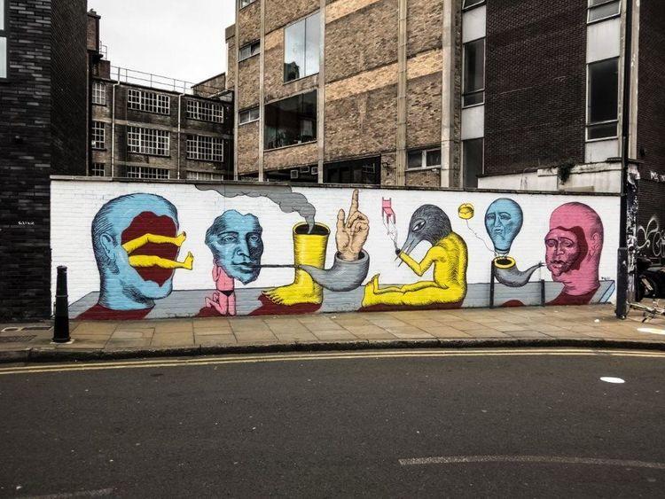 Street Graffiti Streetart Street Art Spray Can Artwork Londres LONDON❤ Londra London England🇬🇧 Creativity Urbanarts Graffiti Art StreetArtEverywhere Streetartphotography UrbanART STRRET ART/GRAFFITI Spray Paint
