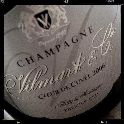 I just love the '06 VIlmart 'Coeur de Cuvée'! Vilmart The Champagne Bar By Richard Juhlin Champagne Champagne Club