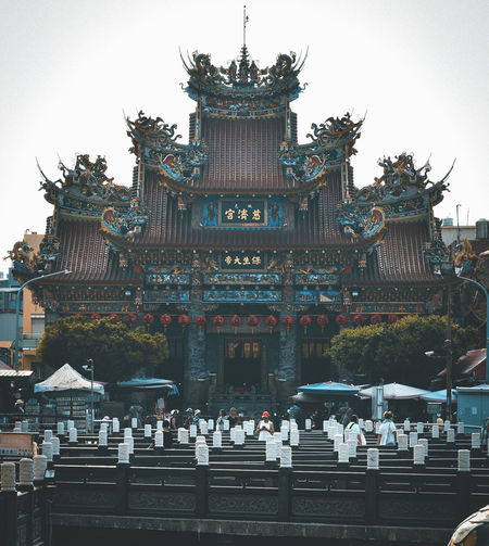 A temple in