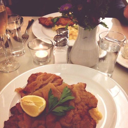 German Food Schnitzel Deutsche Küche I Love This Place