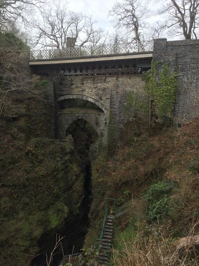 Wales Devil's Bridge Arch Architecture Stone Material History IPhoneography Old Bridge