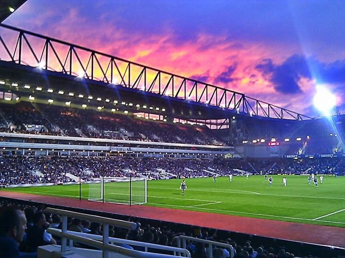 Upton Park East London Westham WestHamUnited Football Football Fans West Ham Fans Football Stadium Sunset