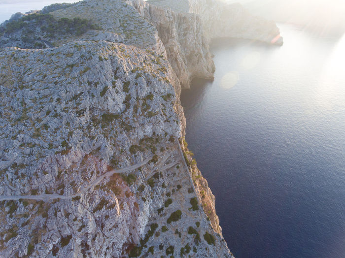 the sunset Aerial Photography Aerial Shot Aerial View Beauty In Nature Dji Drone  High Angle View Mallorca Nature No People SPAIN Tranquil Scene Water Waterfront