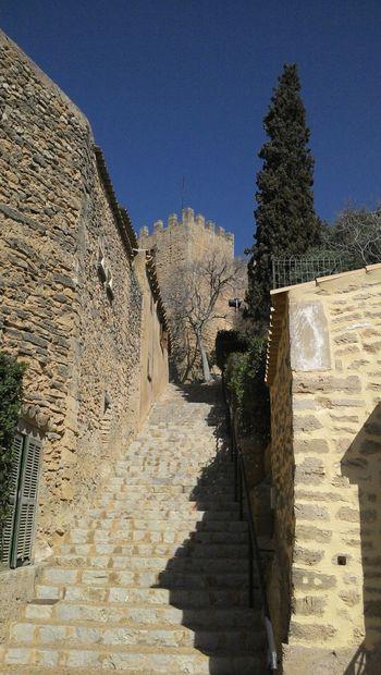 castell de capdepera Cala Ratjada