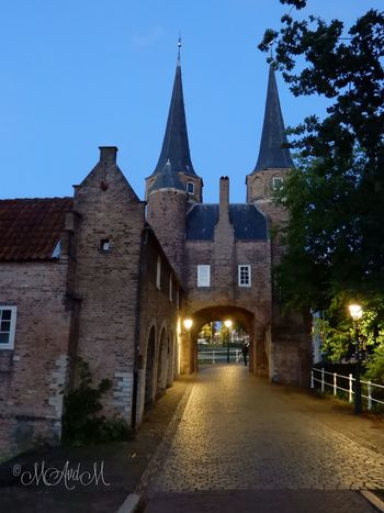 Your Ticket To Europe Watergate Architecture Waterpoort Delft Holland Netherlands Oosterpoort