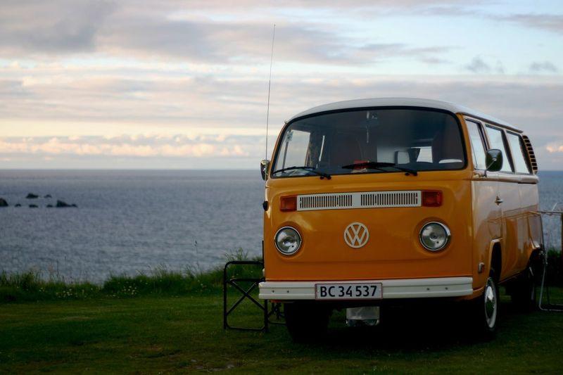 Volkswagen Scotland Camping VW Bus Camper Van Ocean First Eyeem Photo EyeEmNewHere