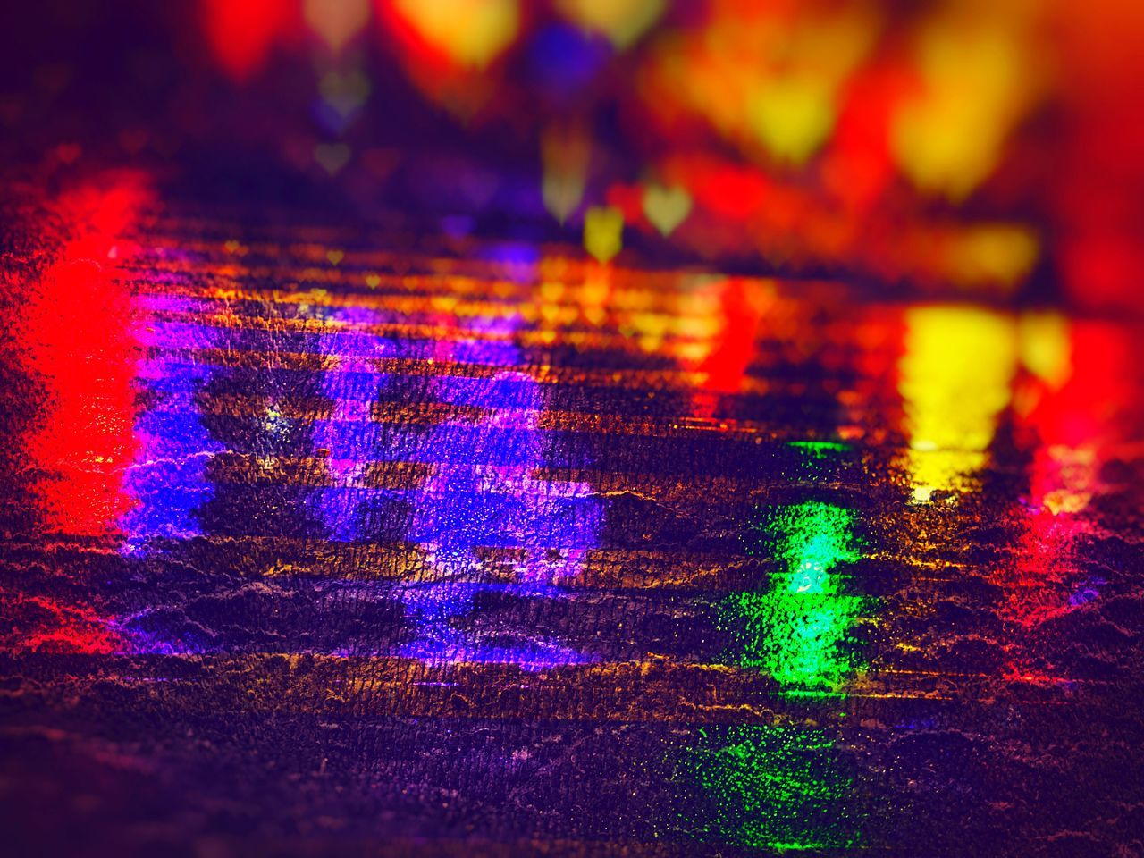 multi colored, illuminated, abstract, vibrant color, full frame, no people, backgrounds, night, close-up, spectrum, outdoors