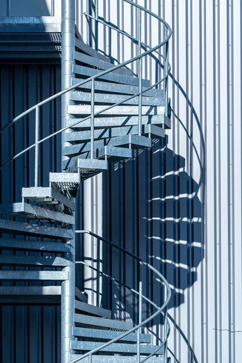 Staircase in factory