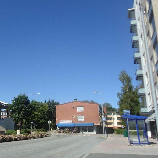 Hämeenkyrö Suomi Finland Visithämeenkyrö Visitfinland Kesä Summer Sininentaivas Bluesky Beautiful Kaunis