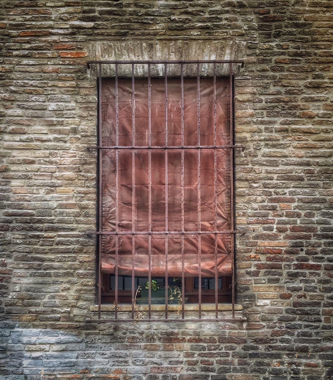 brick wall, architecture, no people, built structure, window, day, building exterior, outdoors, close-up