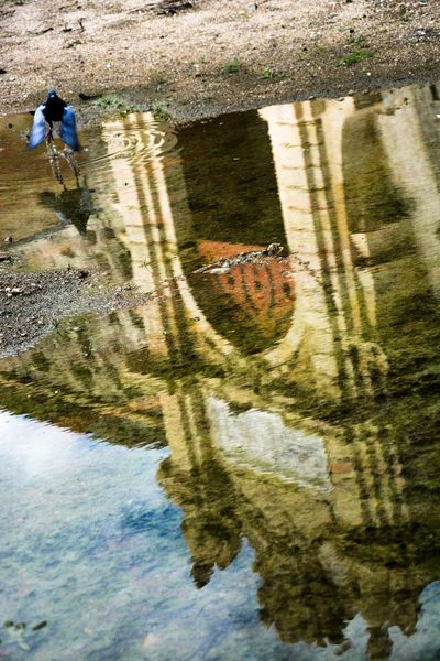 Arquitecture Elvas EyeEmNewHere Porta Portugal Water Mirror World Heritage Agua Alentejo Bird Flyng Fortedagraca Military Motion Outdoors Puddle Reflection Speed Water