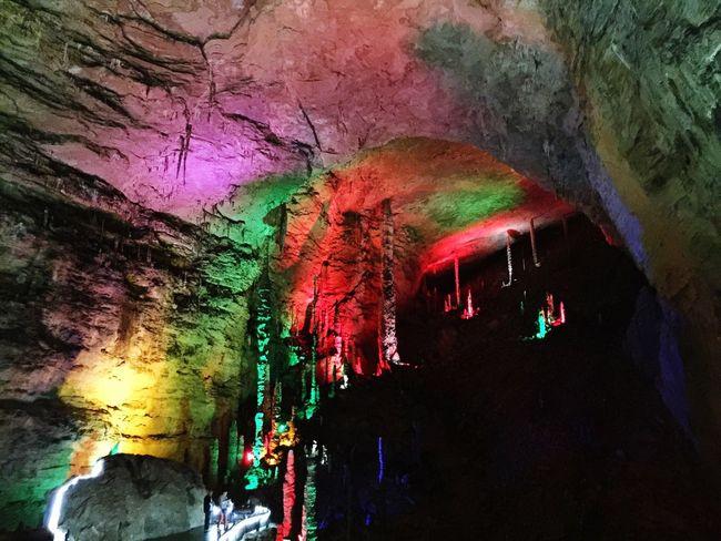 Colors Lights Rocks Caves Caves Rocks Rock Formation Colors Lights HuangLongCave Huanglongdong Zhangjiajie Hunan China Travel Underground 43 Golden Moments Colour Of Life Eyeemphoto