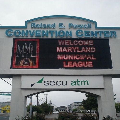Maryland Municipal League conference continues... Ocmd Oceancitycool