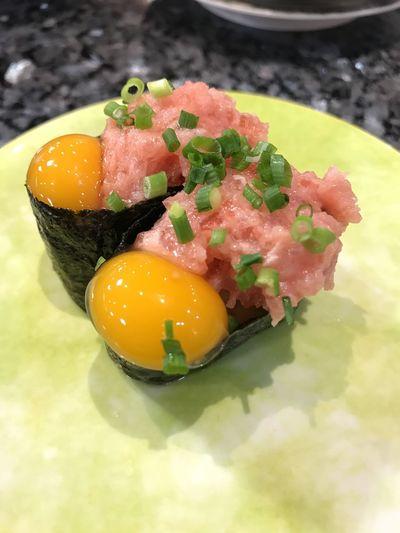 ねぎとろユッケ Negitoro Negitoroyukke Sushi Japan