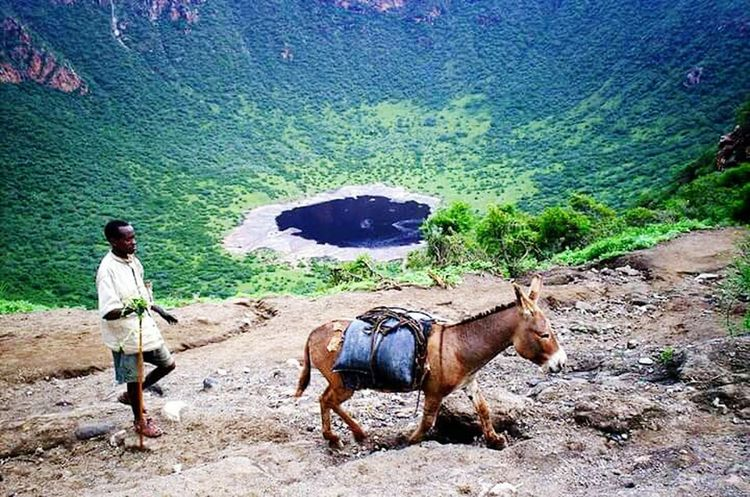 "Ethiopia; a place called ""Black salt lake"" Indeed it is life's salt!"