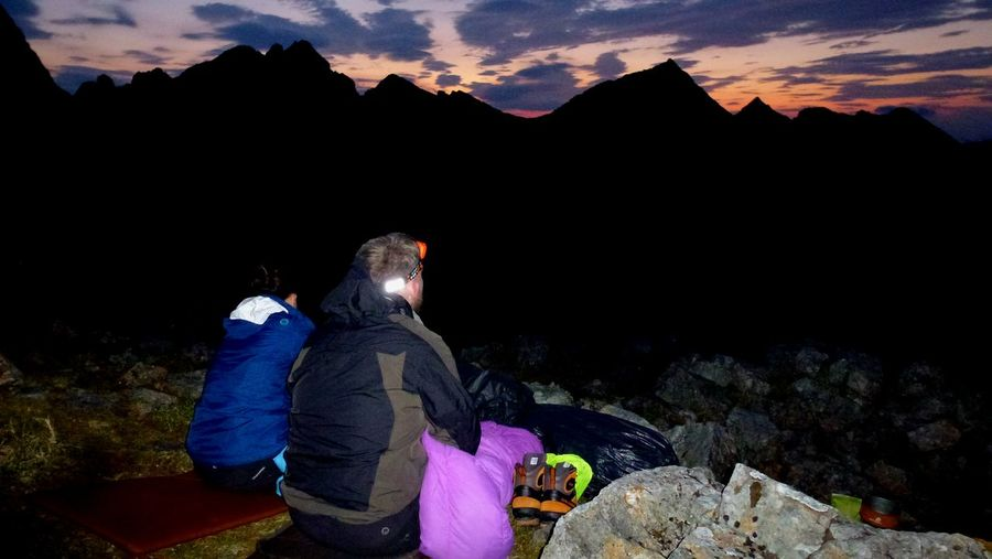 Isle Of Skye Views Sunset Fun Couple Climbing Walking In The Hills Sleeping Bedtime Mountain Cold Temperature Winter Snow Outdoors People One Person Nature Adult Night Adults Only Long Goodbye Lost In The Landscape Second Acts