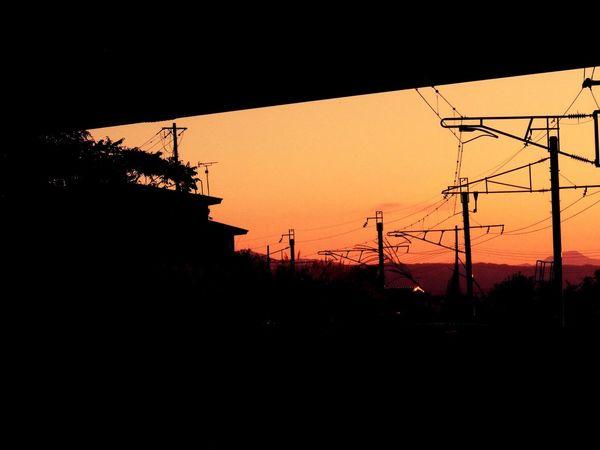 EyeEm Best Shots - Sunsets + Sunrise Sunset Warking♡ Japan Photography Sky_collection Taking Photos