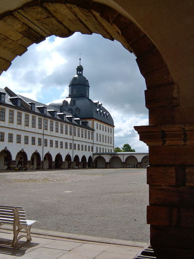 Gotha Place Thuringia Arch Architecture Building Exterior Built Structure Cloud - Sky Day Dome No People Outdoors Place Of Worship Religion Sky Spirituality