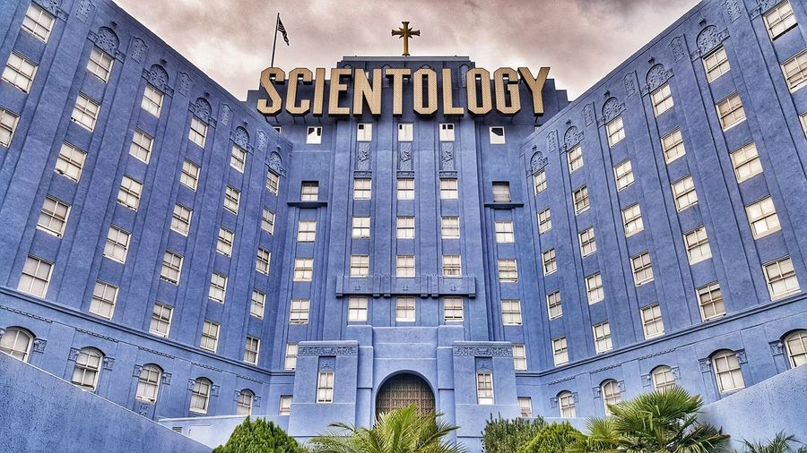 Architecture Low Angle View Day Window Built Structure No People Outdoors Building Exterior Scientology Commune Complex Grandioso Los Angeles, California