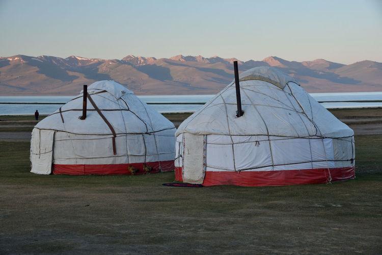 Yurts at