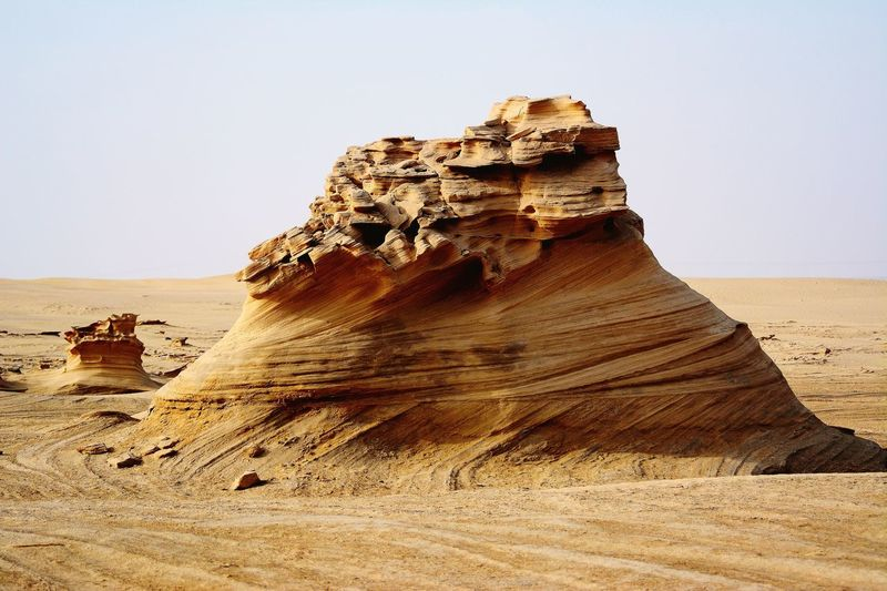 The Rock Land Sand Sky Nature Clear Sky Day Desert
