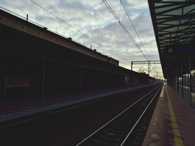 Transportation Railroad Station Railroad Station Platform Rail Transportation Public Transportation City No People Built Structure Outdoors Architecture First Eyeem Photo