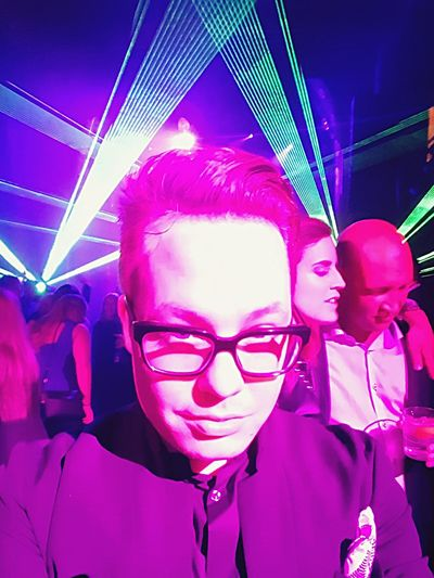 Joker Green Pink One Filter Party Black Suit Men