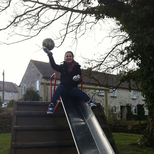 @luciefryy Easterday Sunny Park Puncknowle slide ball