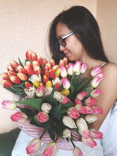 Women's day! 8марта женскийдень Me Flowers Tulips Bouquet Lovely I Like I Love My Life Love My Husband