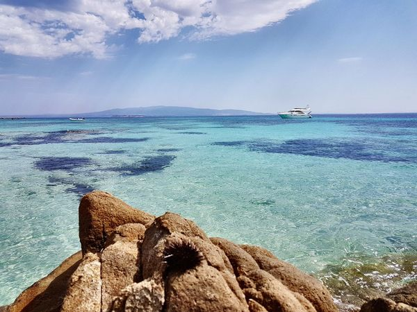 Sea Water Beach Nature Rock - Object Outdoors Sky Sand Beauty In Nature Horizon Over Water Day Scenics Blue No People UnderSea Mix Yourself A Good Time