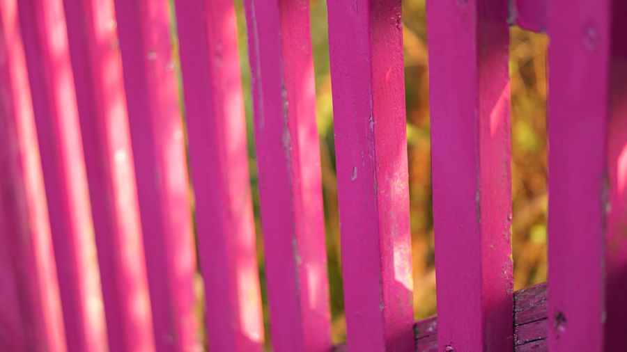 wallsbysavage Full Frame Backgrounds Pattern Close-up No People Selective Focus Indoors  Textured  Multi Colored Pink Color In A Row Metal Vibrant Color Built Structure Side By Side Purple Wall - Building Feature Day Repetition Paint