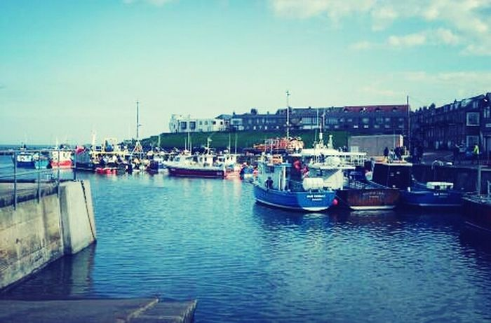 Seahouses Harbour Boats