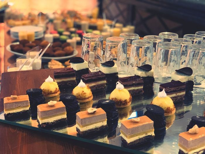 Food And Drink Sweet Food Indulgence Sweet Dessert Still Life Food No People Unhealthy Eating Close-up Focus On Foreground For Sale Large Group Of Objects Freshness Temptation In A Row Ready-to-eat Cake Indoors  Retail  British Culture Exploring Fun The Foodie - 2019 EyeEm Awards
