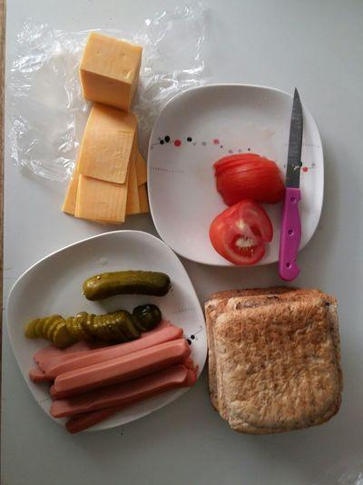 Doing Breakfast Showcase: February Food Ingredients Toasted Sandwich Yummy!