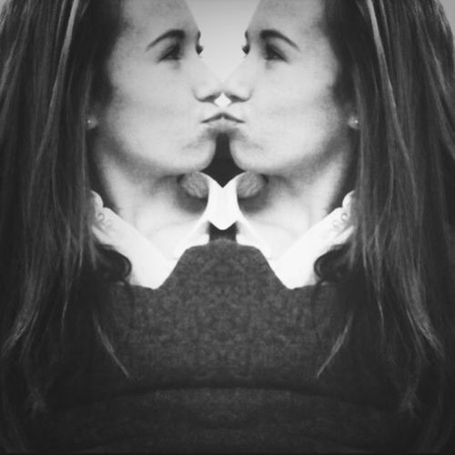 Kissing Myself And With My Boy Is Perfection