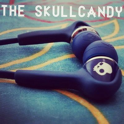 Earphone Headphone Small Tiny Buds SmokingBuds NavyBlue CoolColour Wire InTheEar WithinTheEar Soft Smooth Bass Treble Rock AwestruckingSound LoveIt