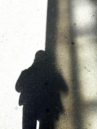 My shadow Shadow Silhouette Focus On Shadow Outdoors Walking Walking Around