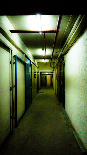 Leaving from here Tunnel Ghost Indoors  No People Corridor Dark Gloomy Ghastly Surly Tenebrous HongKong Hong Kong Factory Building