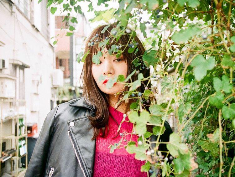 Portrait 3ce Fashion Makeup Hairmake Snap Filmcamera Tokyo,Japan Film Photography 下北沢 Tokyo Street Photography