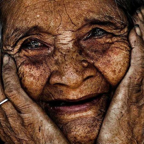 Rostros de Vietman 103 años de edad Goodphotograpy Rehahnfotography