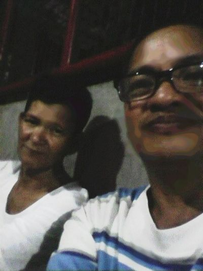 my friend Ariel Eugenio and Me...