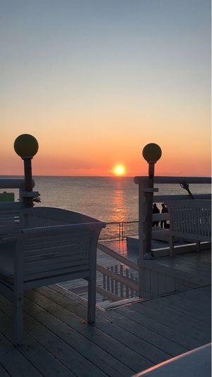 Livorno sunset Sunset Sea Horizon Over Water Water Beauty In Nature Nature Scenics