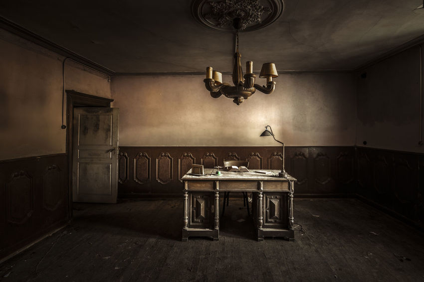 studying all night long till the sun comes up again! Abandoned Abandoned Places Bureau Chair Hidden Hidden Beauty Hidden Gems  Hidden Places Indoors  Lost Places Luxembourg Natural Light Nikon Nikonphotography No People Photography Pixan Pictures Study Study Time Table Tamron 15-30mm Urbex Urbex Abandoned Urbexexplorer Urbexphotography